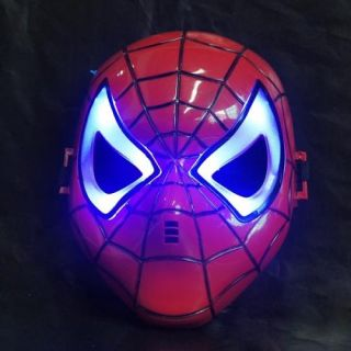 man mask light up LED costume party Charcter Cosplay Toy for Kids/Boys