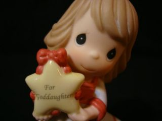 Et Precious Moments Goddaughter You Light Up My Life Ornament