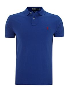 Polo Ralph Lauren Classic custom fitted polo shirt Mid Blue