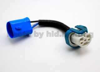 1x HB1 9004 HB5 9007 Wire Socket Ceramic Connector Male Female HID LED