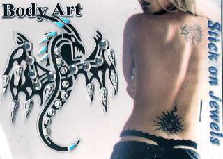 Choose from 27 Body Tattoo Temporary Art Sticker Bindi