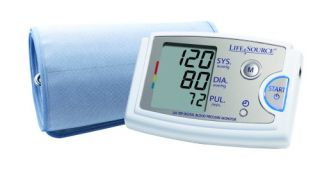 New LifeSource Blood Pressure Monitor Accufit Extra Large Cuff 16 5 23