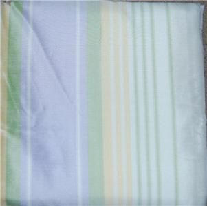 Pottery Barn Kids Multi Stripe Silk Curtain Panel 96