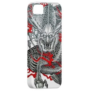 Cool vintage Japanese Dragon tattoo iphone5 iPhone 5 Case