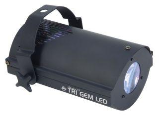 American DJ Tri Gem LED Floor Effect Sound Dance Light