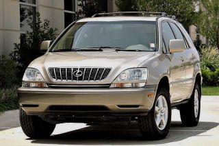 98 03 Lexus RX 300 Auto Dim Heated Mirror Glass LH Left Driver Side