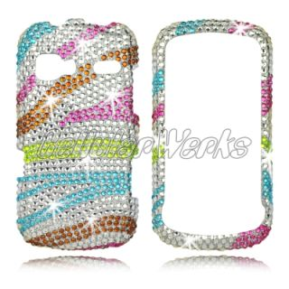 Bling Cell Phone Case Cover for LG VN272 Rumor Reflex Freedom Boos