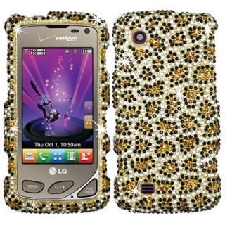 Crystal Faceplate Hard Case Cover LG Chocolate Touch VX8575