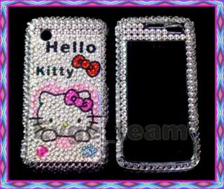 Hello Kitty Bling Case Cover LG Chocolate Touch 8575 XT