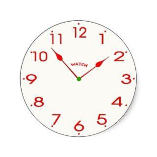 clock face_02 sticker