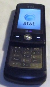 LG at T CU720 Shine Camera Cell Phone Good Working Condition