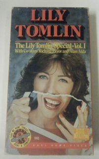 Lily Tomlin Special Vol 1 VHS Richard Pryor Alan Alda Bell Gerber 1973