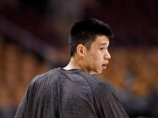 Jeremy Lin Game Worn Used New York Knicks Practice Shirt RARE