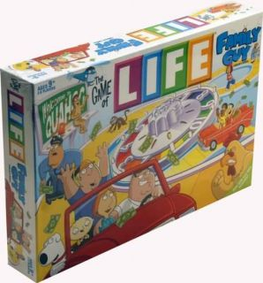 is for The Game of Life  Family Guy Collectors Edition board game