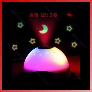 Color Change LED Magic Digital Projection Alarm Clock