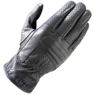 Lightweight Leather Summer motorbike Cruising Motorcycle Gloves