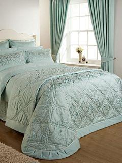 Christy Everett bedspread double sea green