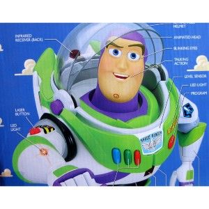 Buzz Lightyear Ultimate Programmable 16 Robot Remote Control RC Toy