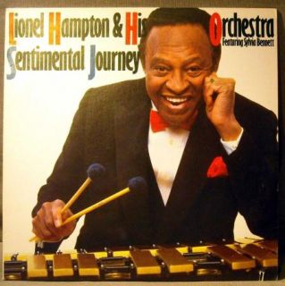 Lionel Hampton Sentimental Journey LP w/ Sylvia Bennett FREE USA