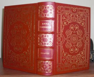 Tolstoy Count Leo Anna Karenina Easton Press