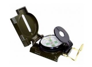Style Camping Army Sighting Lensatic Compass 3in1 Liquid Filled