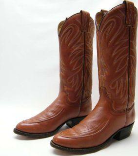Men Vtg WB Masterson Wrangler Cowboy Western Boots 7 D