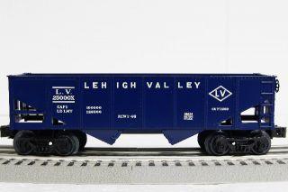 Lionel Scout Hopper Car Lehigh Valley LV Coal Two Bay Train O Gauge 6