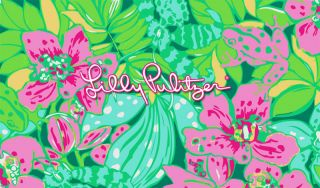 Fun Mod Lilly Pulitzer Long Sleeved Dress M