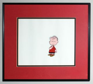 Production Cel Youre Good Sport Charlie Brown Linus 1975