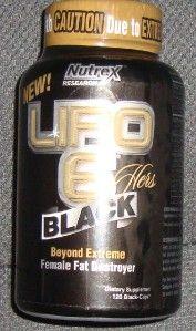 LiPo 6 Hers Black Female Fa Desroyer 120 Caps SEALED Bole Exp 09