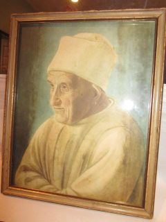 Portrait of an Old Man Filippino Lippi Art Painting Print Framed Pope