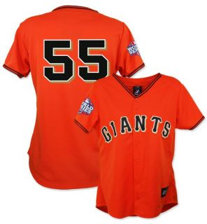 Tim Lincecum 2012 San Francisco Giants World Series Alt Jersey Womens