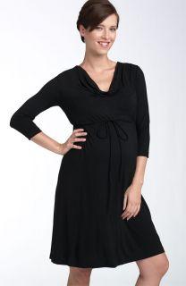 Japanese Weekend Maternity Versatile Little Black Dress