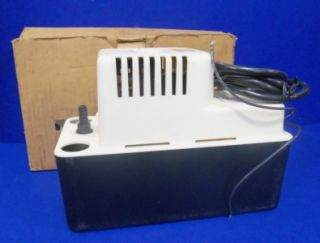 GIANT PUMP COMPANY VCMA 20ULS 115 VOLTS 60 HZ PHASE 1 CONDENSATE PUMP
