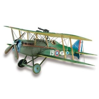 Lindberg British SE5A Biplane Aircraft Model Kit 1 48