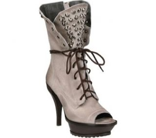 New in Box $340 00 Lisa for Donald Pliner ISI Milk Distressed Suede