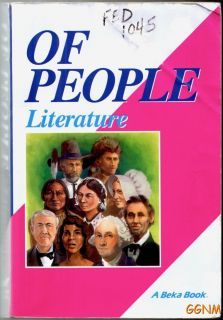 Beka Books of People Literature Textbook 7 7th Grade Stories Poems