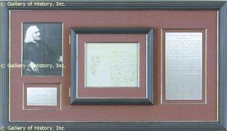 Franz Liszt Autograph Letter Signed 09 02 1850