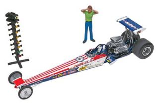 Revell 1 24 Tom Mongoose McEwen Rail Dragster Model Kit 85 4908