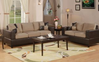 Sofa w and Loveseat Couches Living Room Furniture Set Love Seat
