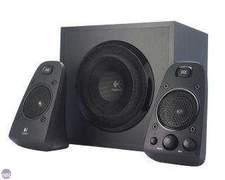 Logitech Z623 Speaker System 200 Watts RMS 2 1 Subwoofer Sub Black
