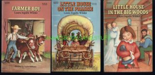 LITTLE HOUSE ON THE PRAIRIE * Laura Ingalls Wilder * 9 book boxed set