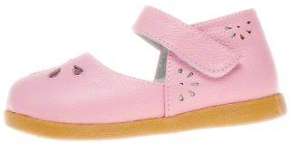 Little Blue Lamb Girls Kids Childrens Toddler Infant Leather Shoes