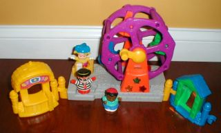 Fisher Price Little People Musical Light Up Ferris Wheel Load w People