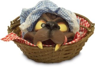 Little Red Riding Hood Wolfs Head Basket Costume Prop