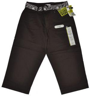 Lee Natural Fit Capris Capri Belt Slims 6 8 10 12 16