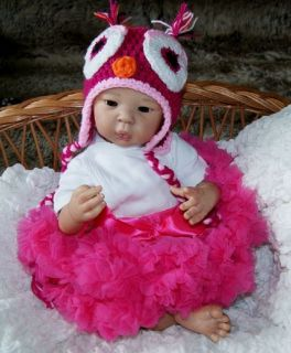 Liu San by A Stoete So Cute Reborn Baby Girl Bellababy