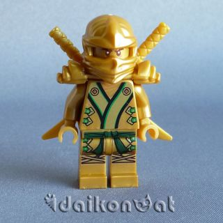 Lego Ninjago 70505 Lloyd Garmadon Golden Ninja Minifigure Temple of