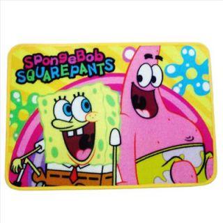 Spongebob Bath Area Rug Mat Carpet Non Slip Rainbowl