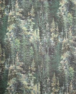 Lookout Peak Pine Tree Elk Wild Wings 100 Cotton Quilt Fabric BTY Yard
